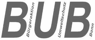 BUB Logo Umweltschutz